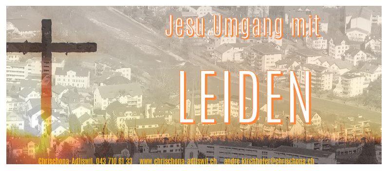 Jesu Leiden und wir